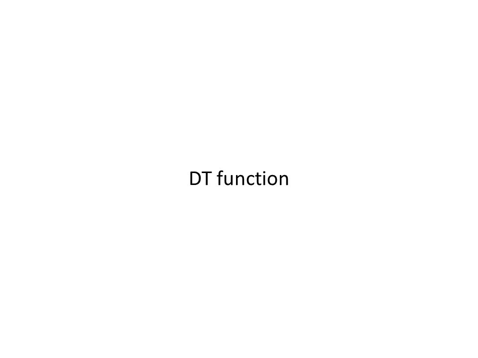 DT function