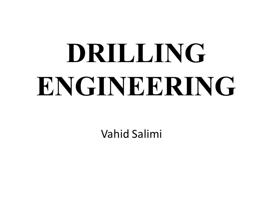 Textbook Applied Drilling Engineering, by :Adam T.