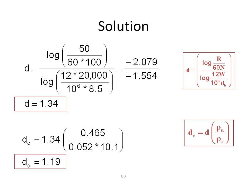 86 Solution