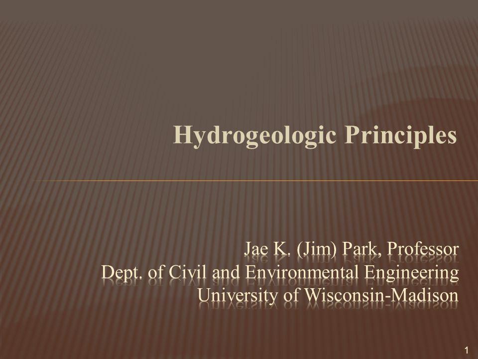 Hydrogeologic Principles 1