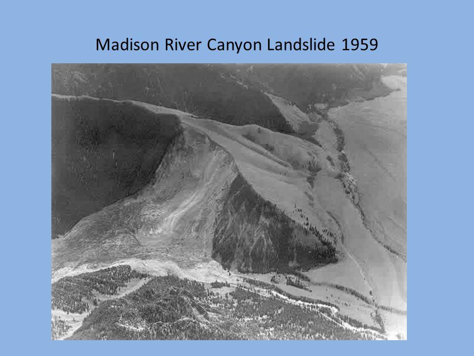 Madison River Canyon Landslide 1959
