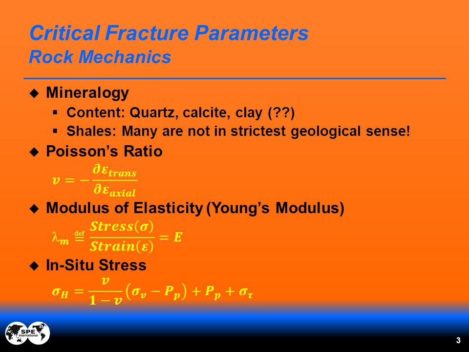 Critical Fracture Parameters Rock Mechanics 3