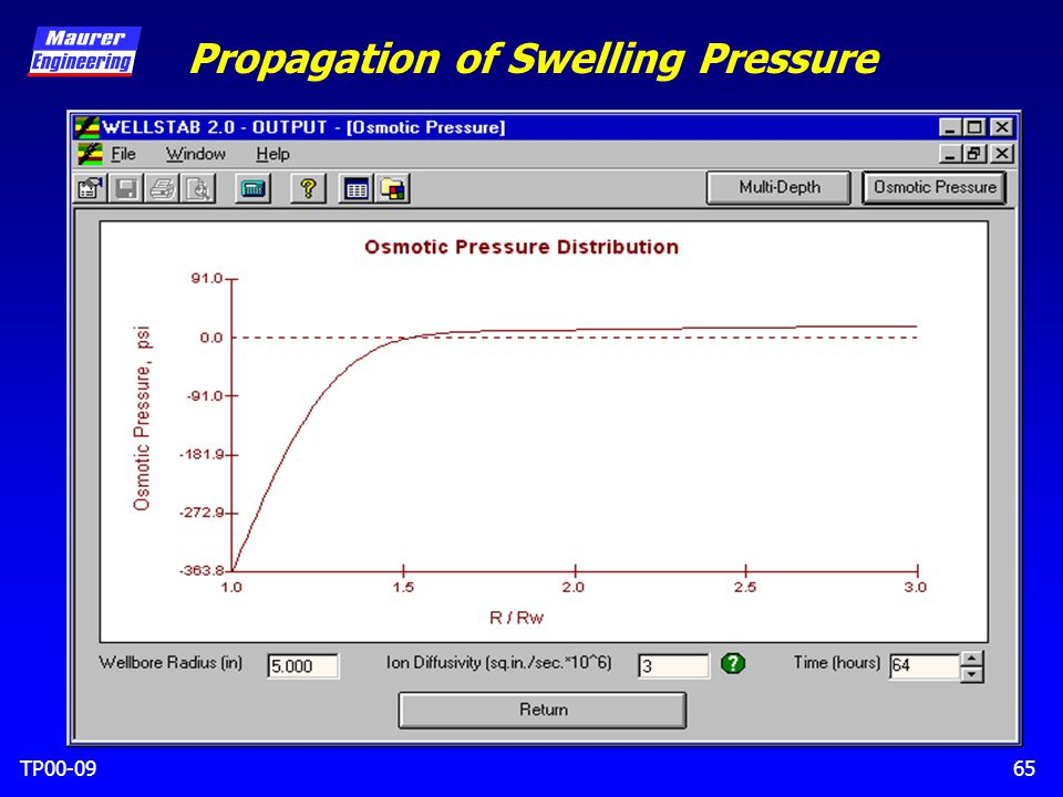 TP00-0965 Propagation of Swelling Pressure
