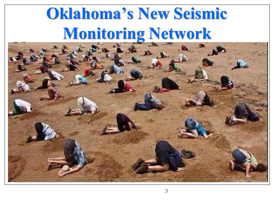 Oklahoma's New Seismic Monitoring Network 3