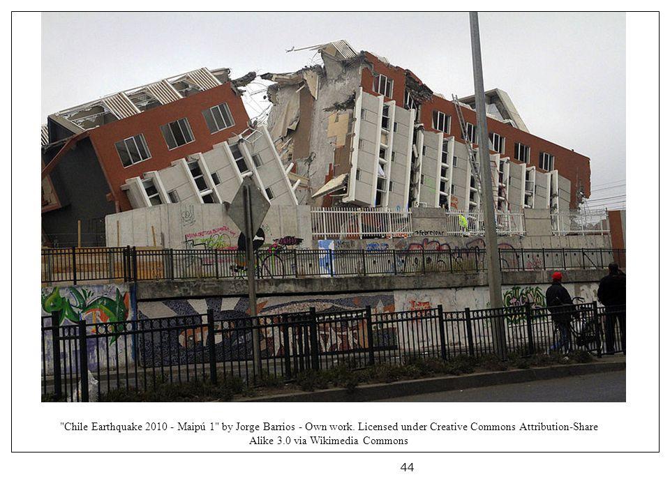 Chile Earthquake 2010 - Maipú 1 by Jorge Barrios - Own work.
