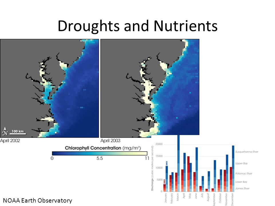 Droughts and Nutrients NOAA Earth Observatory