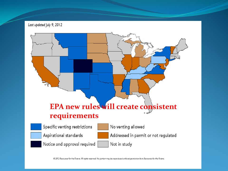 EPA new rules will create consistent requirements