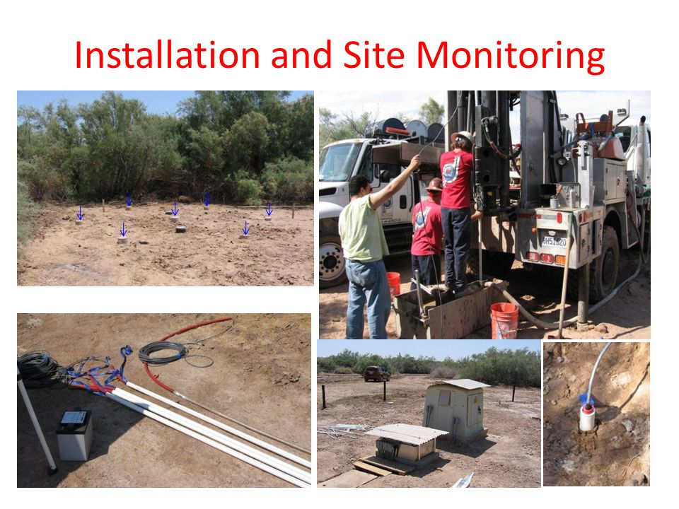Installation and Site Monitoring