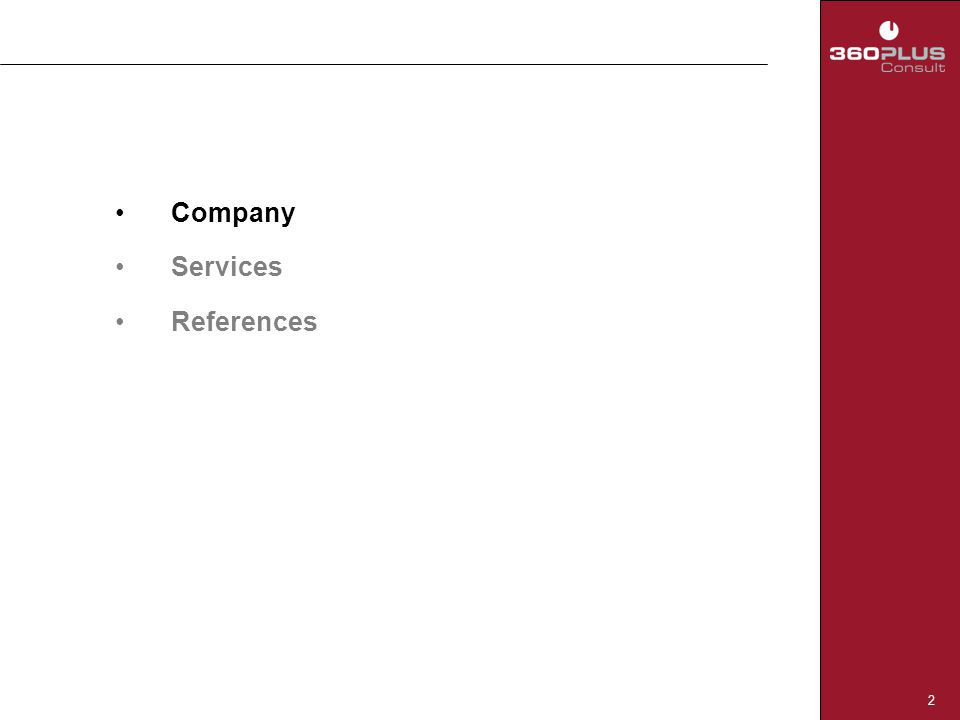 2 Company Services References