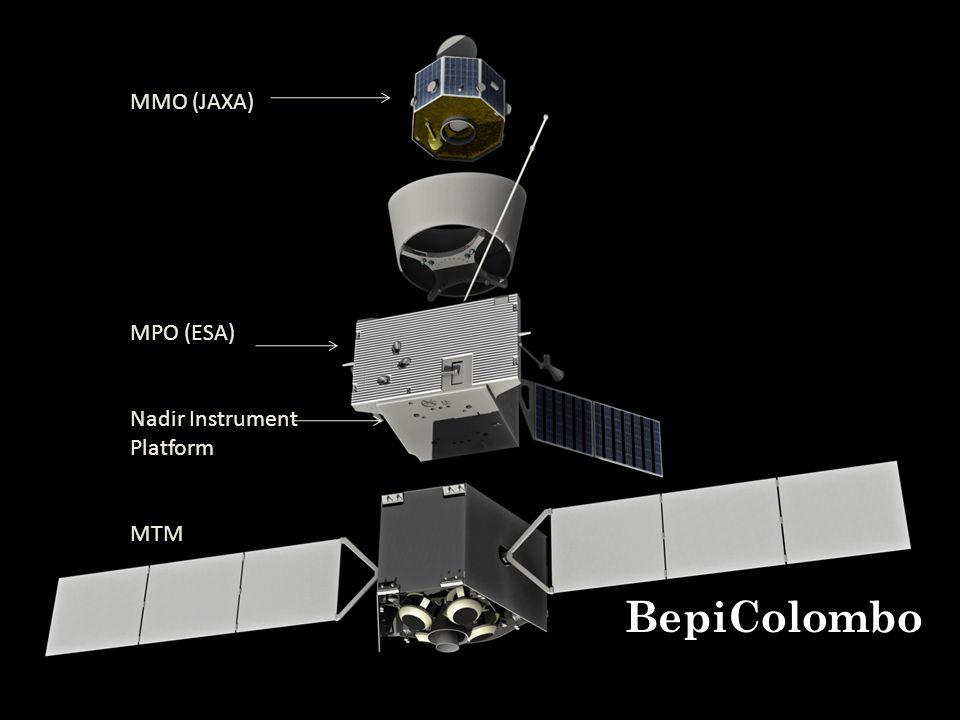 MMO (JAXA) MPO (ESA) Nadir Instrument Platform MTM BepiColombo