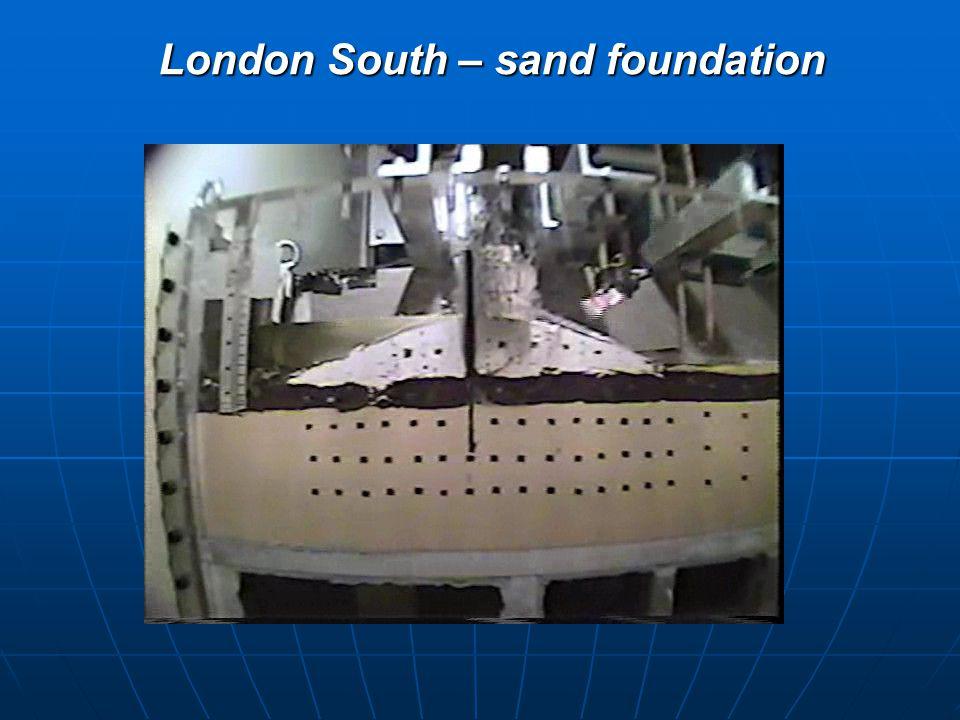 London South – sand foundation