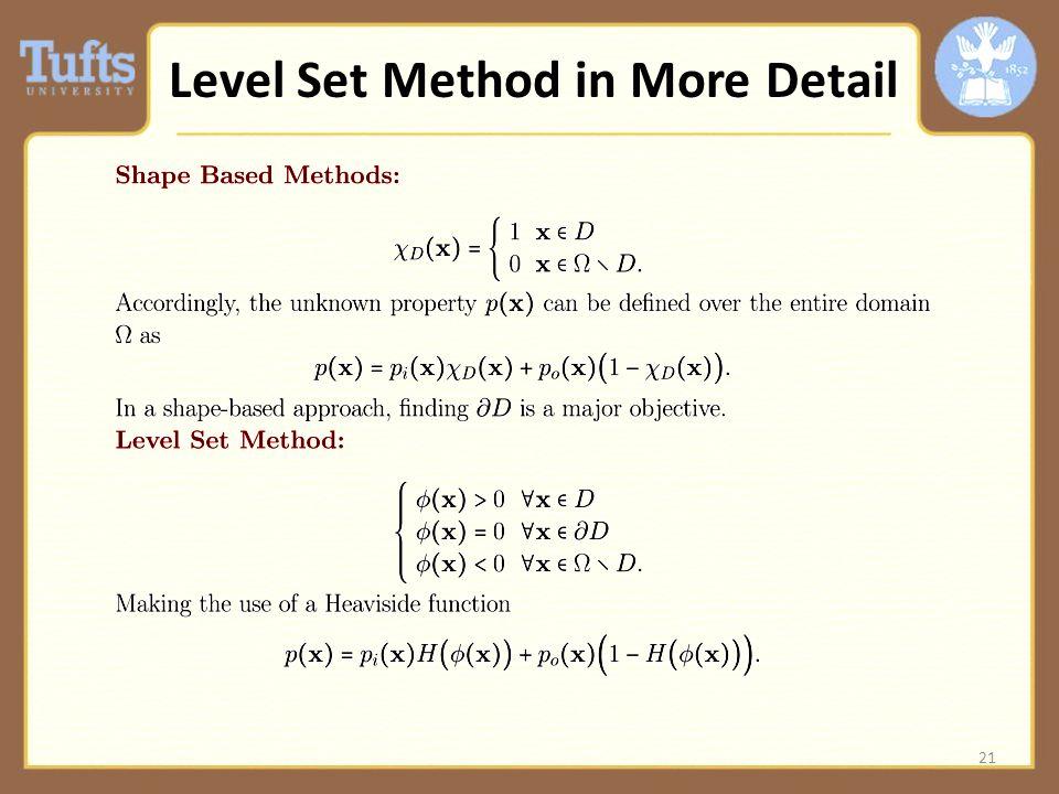 21 Level Set Method in More Detail