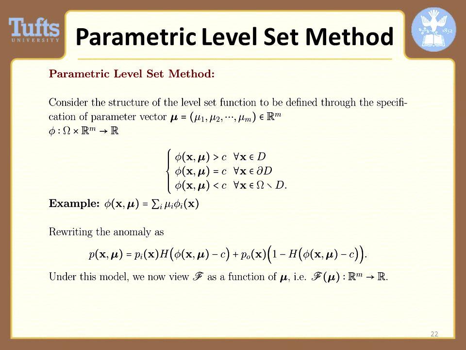 22 Parametric Level Set Method