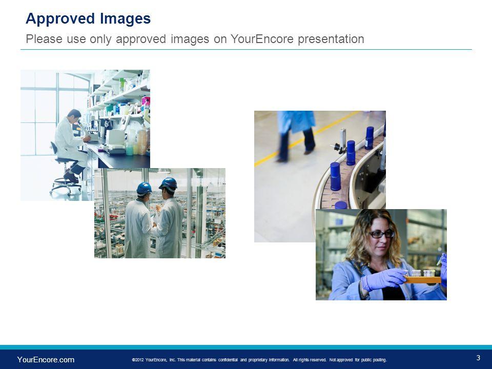 14 YourEncore.com ®2012 YourEncore, Inc.