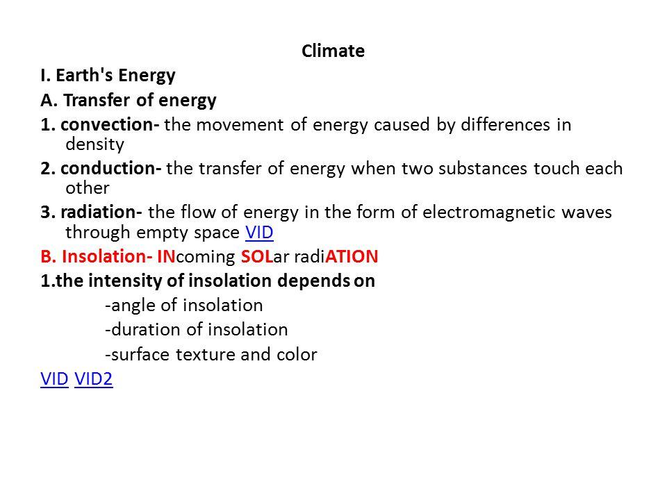 III.Insolation Temperature Lag 1.