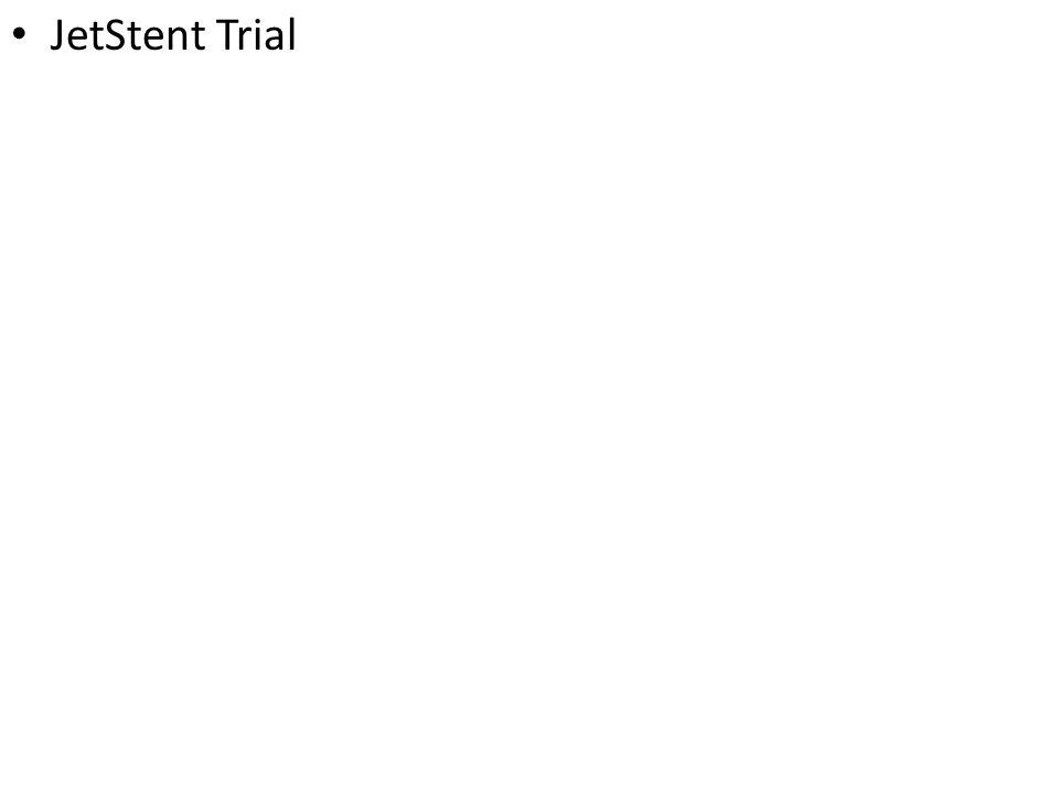 JetStent Trial