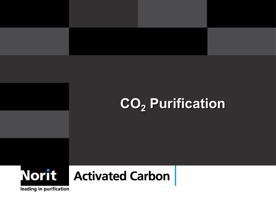 CO 2 Purification