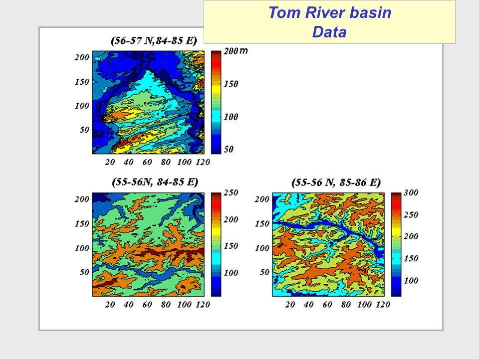 Tom River basin Data