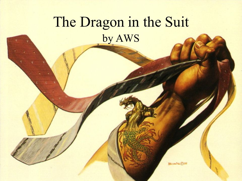 The Dragon in the Suit by AWS
