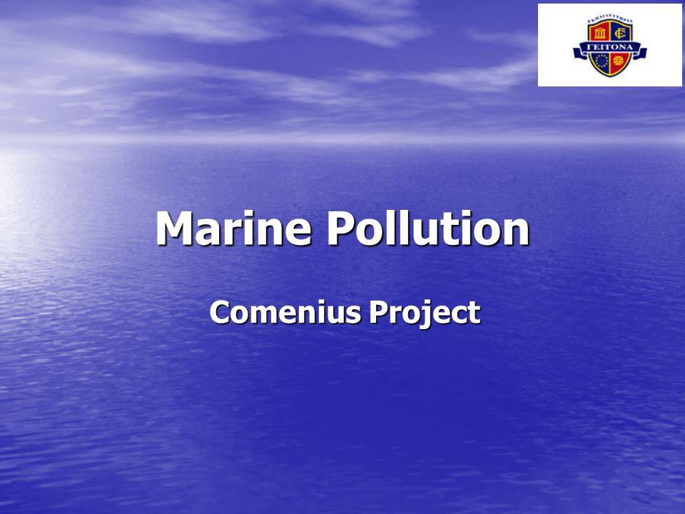Marine Pollution Comenius Project