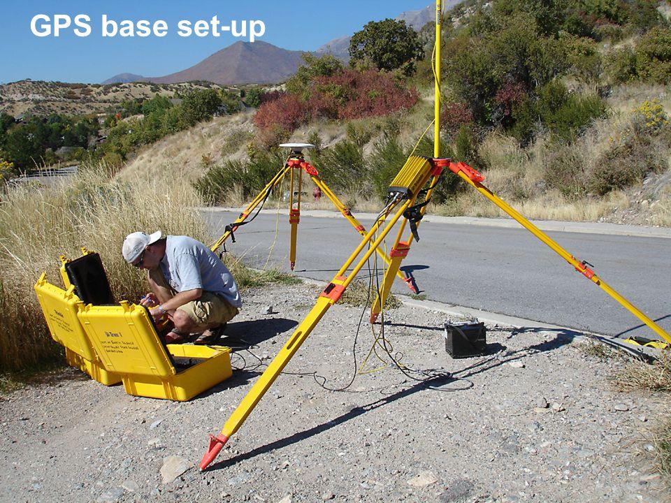 GPS base set-up