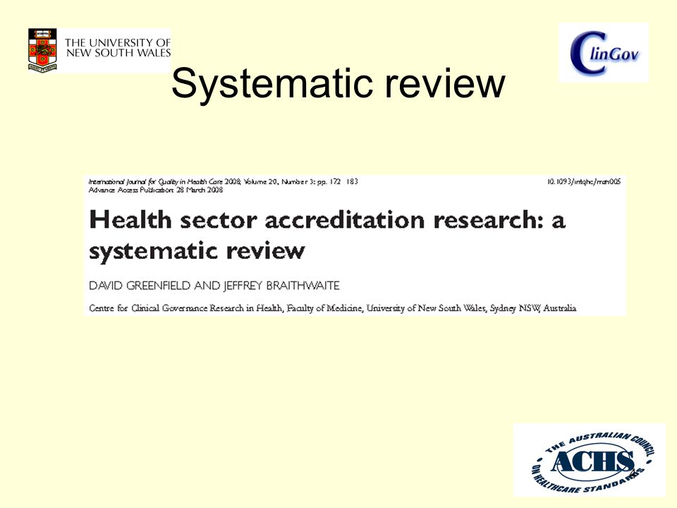 Systematic review 4