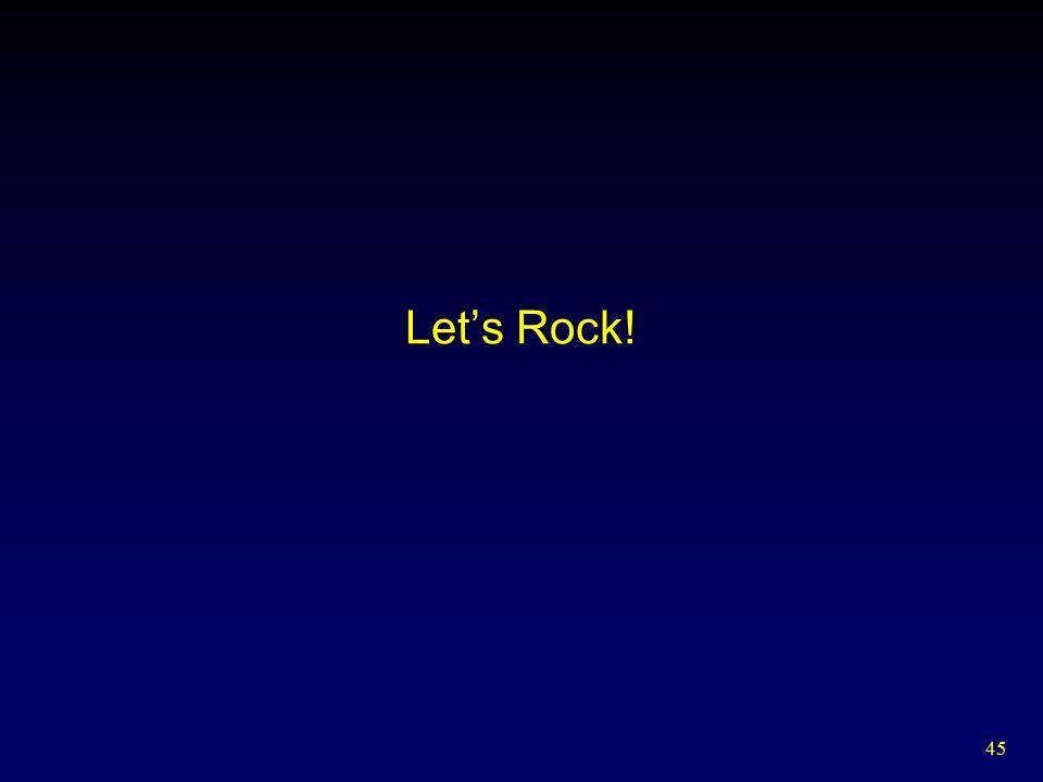 45 Let's Rock!