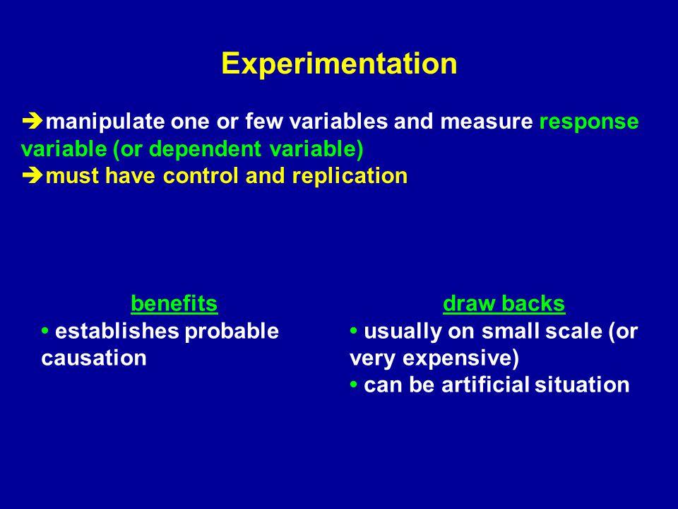 Correlation benefits can be predictive can establish association, (e.g.