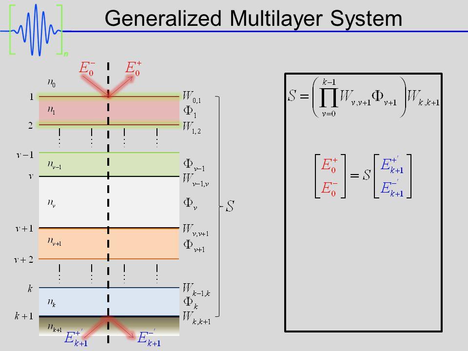 Generalized Multilayer System