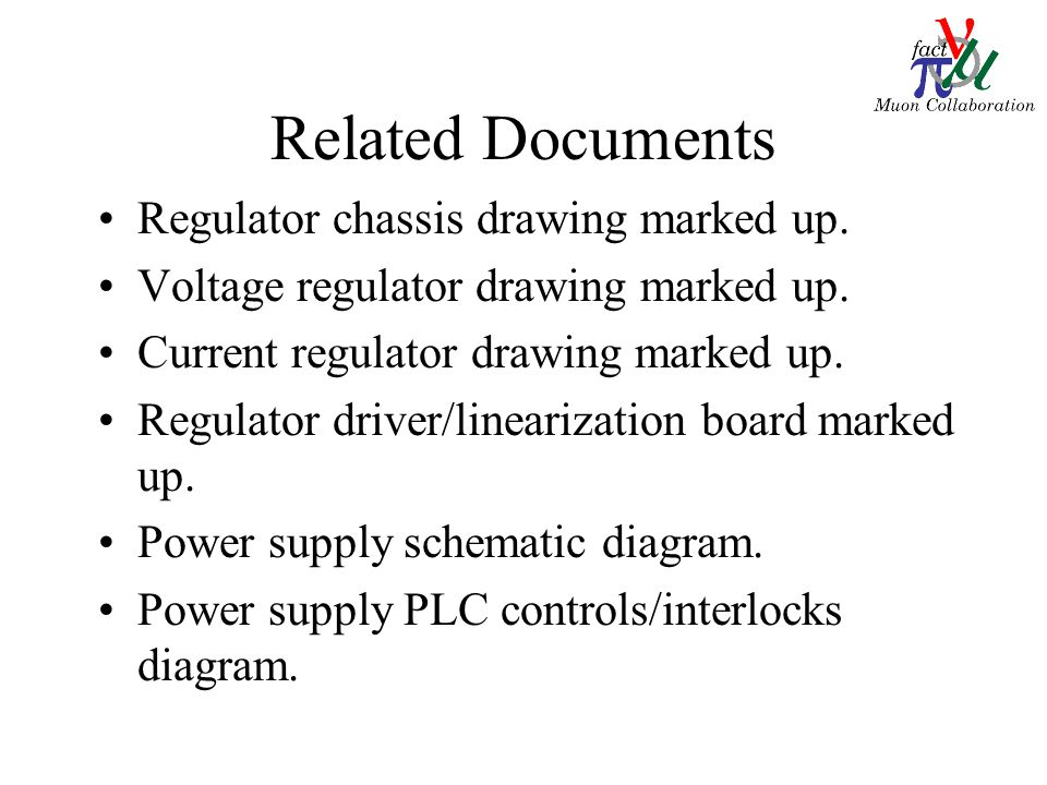 Related Documents Regulator chassis drawing marked up.