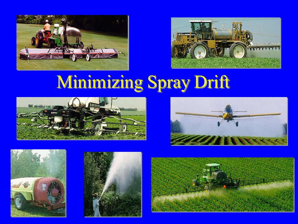 Minimizing Spray Drift
