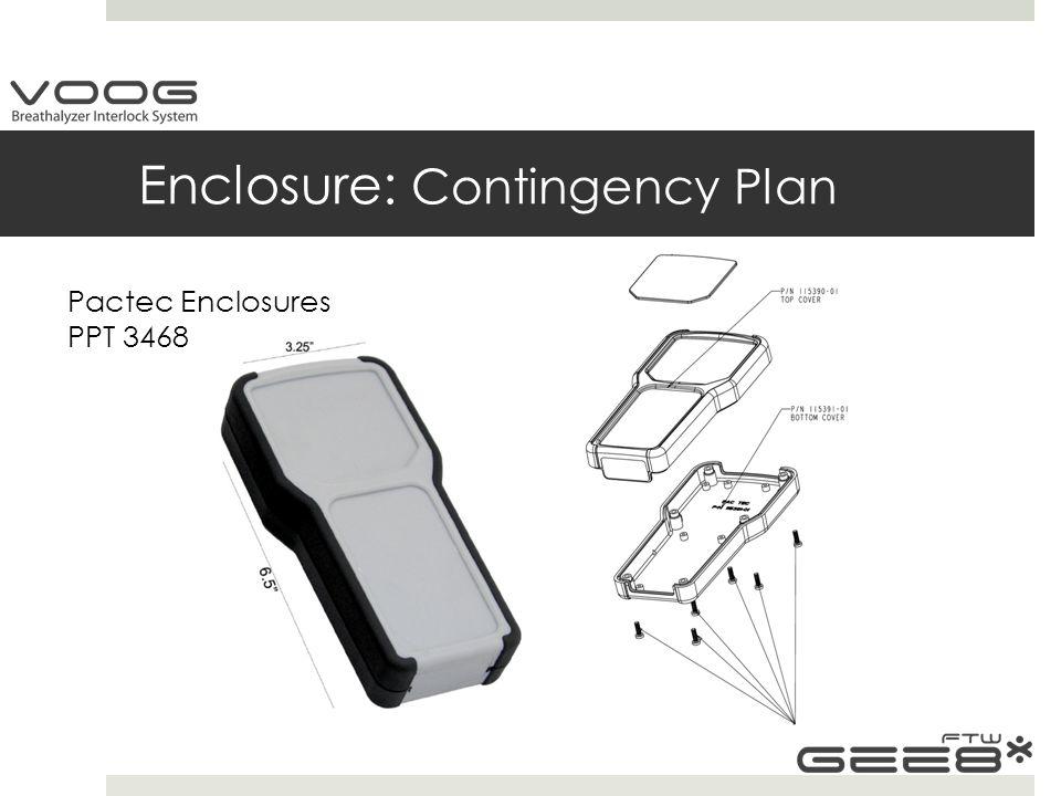 Enclosure: Contingency Plan Pactec Enclosures PPT 3468