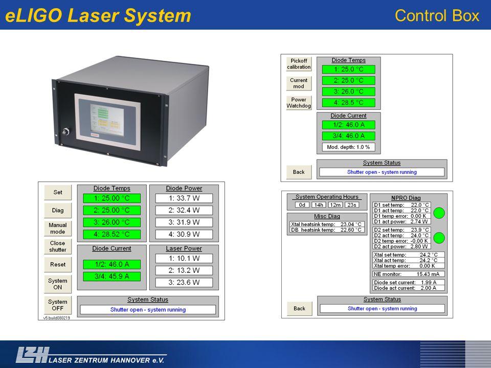 eLIGO Laser System NPRO Diag Control Box