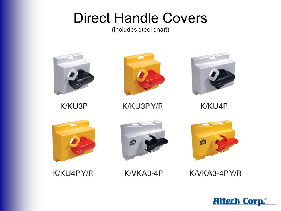 Direct Handle Covers (includes steel shaft)