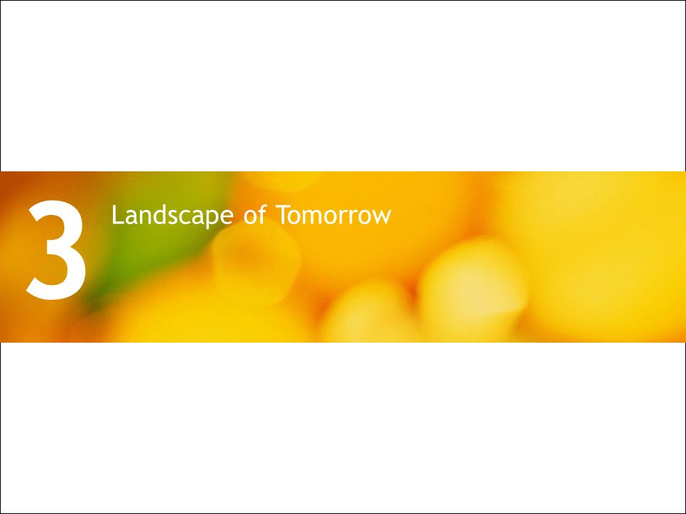 All Rights Reserved © Alcatel-Lucent 2009 10 | PON Architecture for Wireless Backhaul Landscape of Tomorrow 3