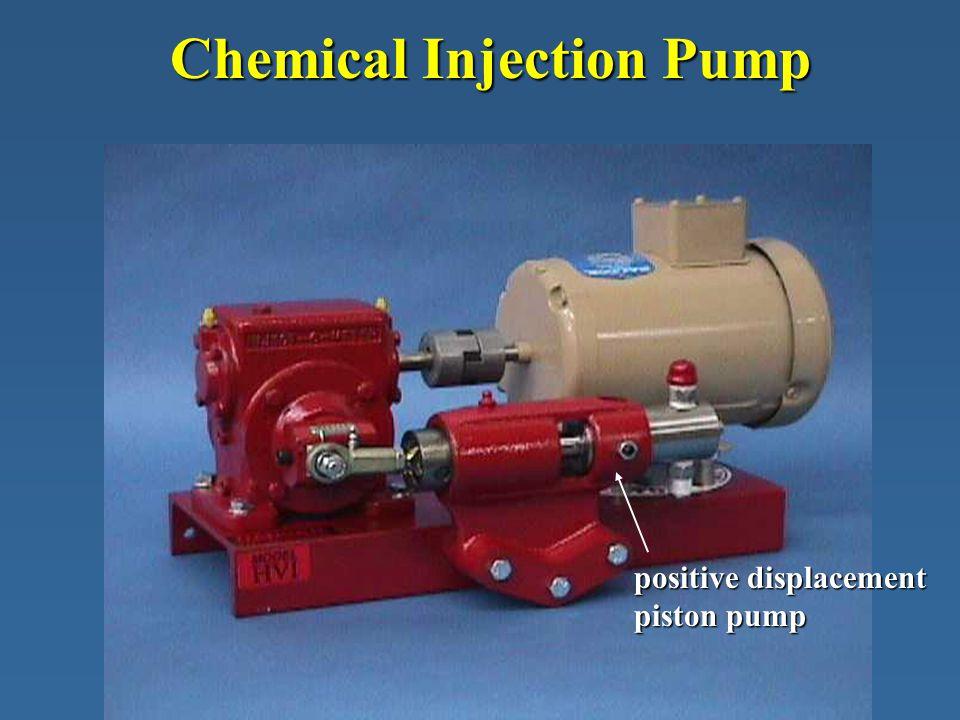 Chemical Injection Pump positive displacement piston pump