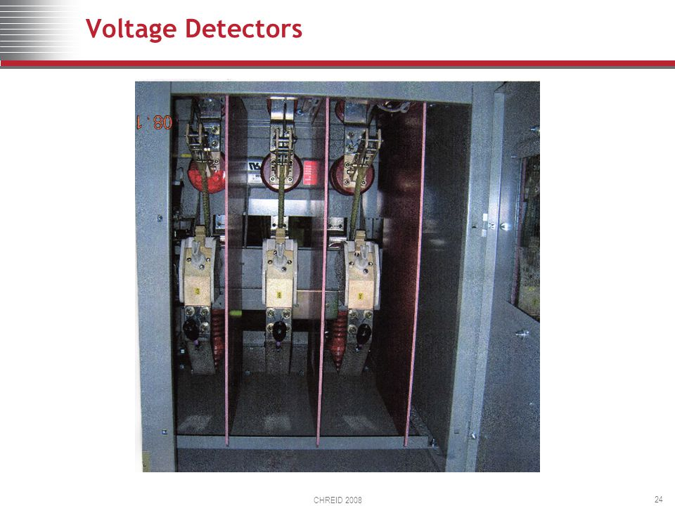 CHREID 2008 24 Voltage Detectors