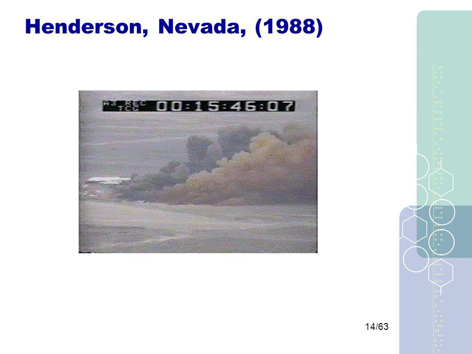 14/63 Henderson, Nevada, (1988)