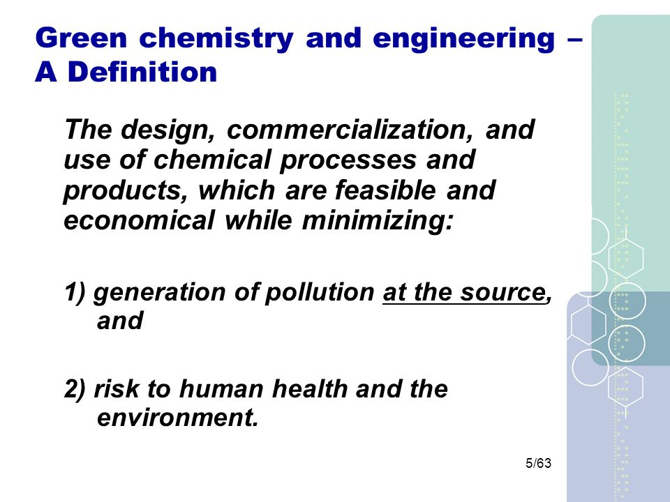 16/63 Hazard An inherent physical or chemical characteristic that has the potential for causing harm to people, the environment, or property (CCPS, 1992).