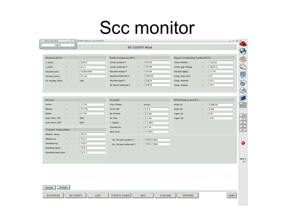 Scc monitor