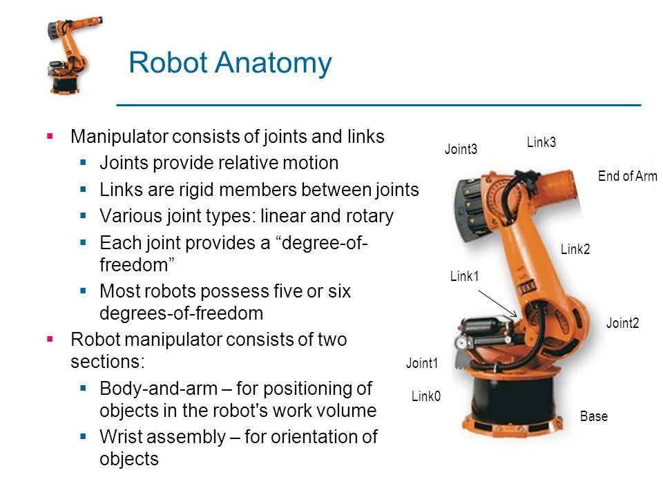 Robot Programming  Textural programming languages  Enhanced sensor capabilities  Improved output capabilities to control external equipment  Program logic  Computations and data processing  Communications with supervisory computers