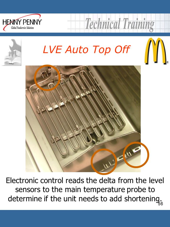 56 LVE Auto Top Off Electronic control reads the delta from the level sensors to the main temperature probe to determine if the unit needs to add shor