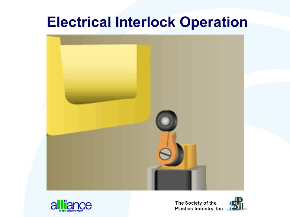 The Society of the Plastics Industry, Inc. Electrical Interlock Operation
