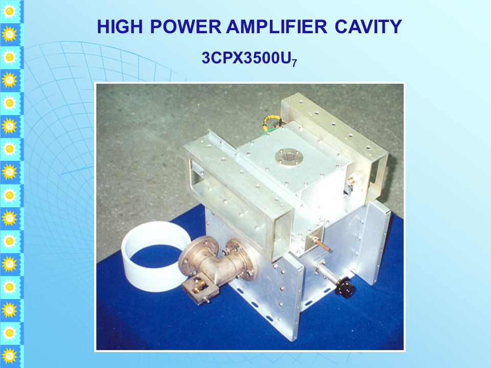 HIGH POWER AMPLIFIER CAVITY 3CPX3500U 7