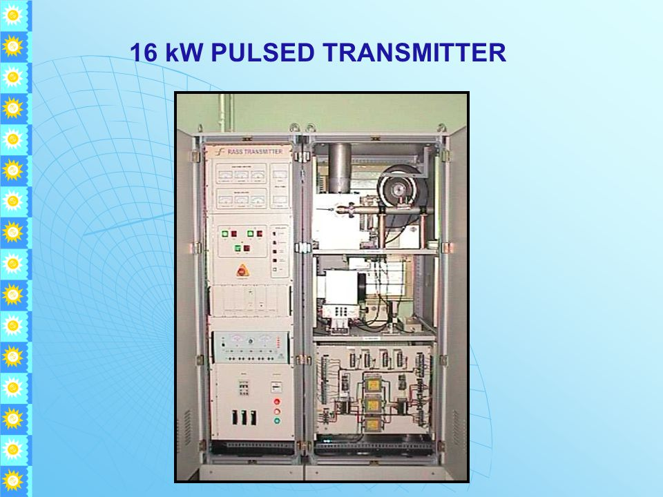 16 kW PULSED TRANSMITTER