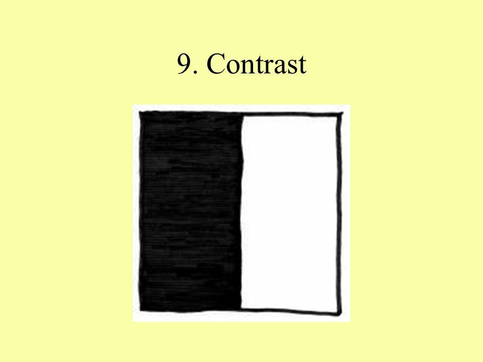 9. Contrast