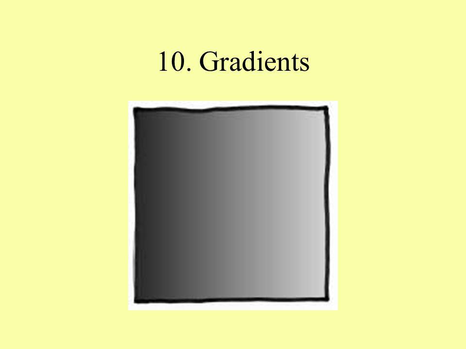 10. Gradients