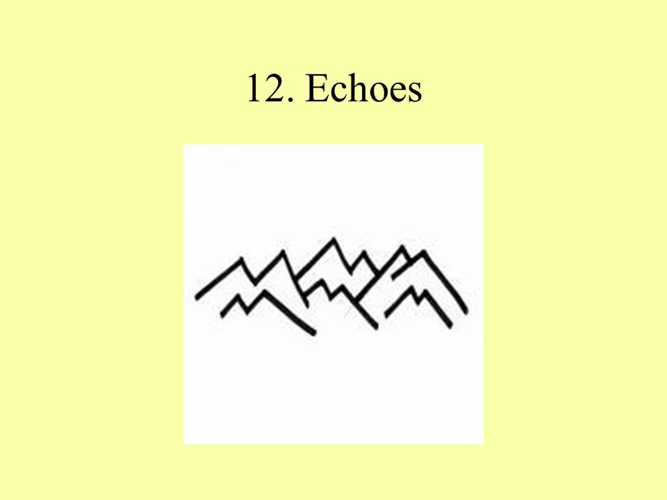 12. Echoes