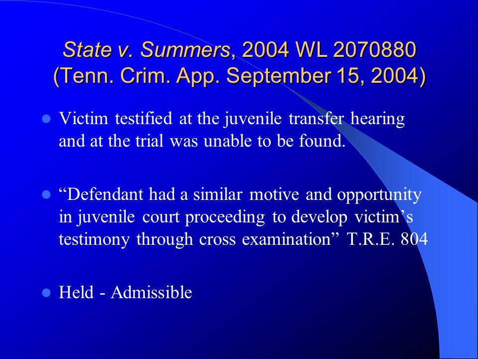 State v. Howard, 2004 WL 2715346 (Tenn. Crim. App.
