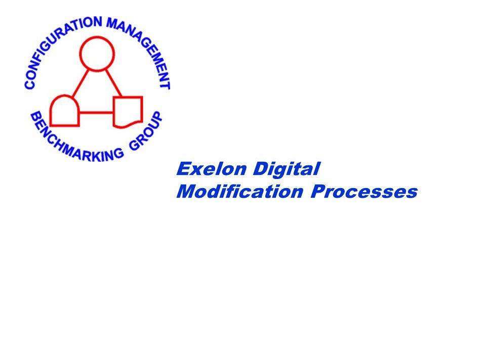 Exelon Digital Modification Processes
